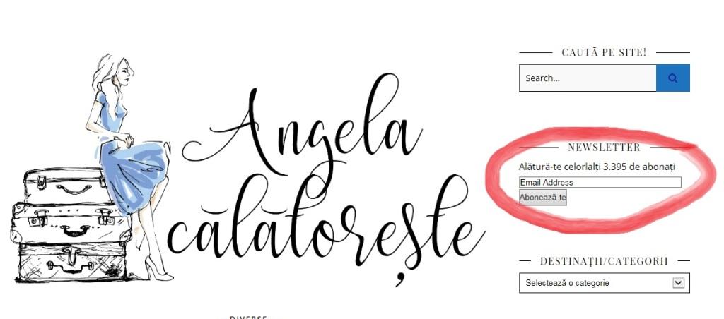 Angela Călătorește 3 ani