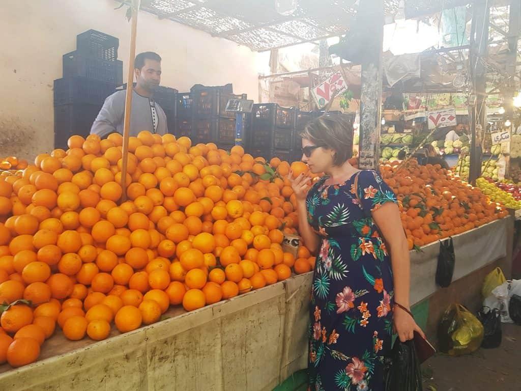 la cumpărături prin Egipt