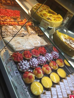The pastries