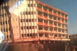 Bombed hotel