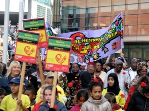 Liverpool's annual Walk of Remembrance commemorates the Haiti slave uprising on August 23, 1791