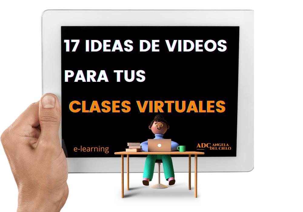 17 ideas de videos para cursos online