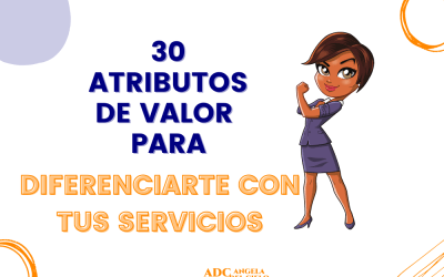 Atributos de valor para tus servicios