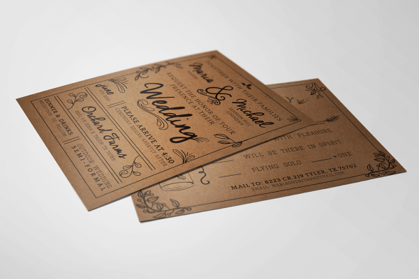 Simonaeux Wedding Invitations