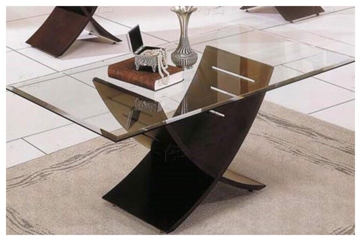 Gold Leaf Coffee Table