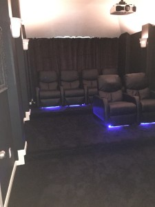 Home Theater and Media Room Remodel