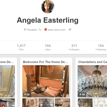 Follow Me on Pinterest - iAmAngelaEast