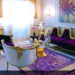 Living Room Tour #homedecor #baroqueinterior #glam with Angela East at angelaeast.com