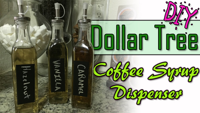 Coffee Syrup Dispensers