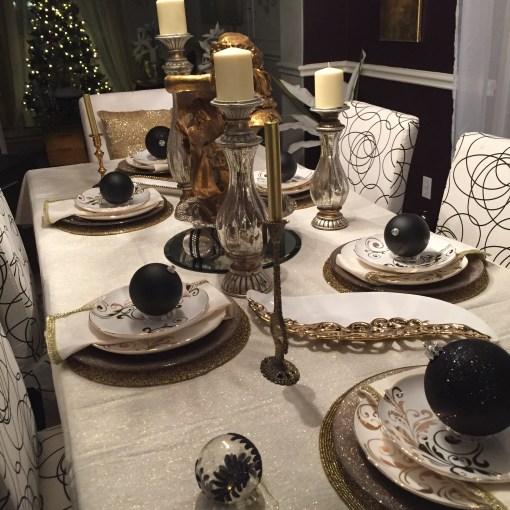 Angela East Holiday Home Tour #homedecor #baroqueinterior #glam #christmasdecor at angelaeast.com