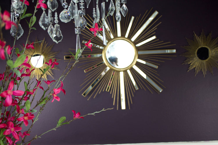 Dining Room Makeover #homedecor #1Room30Days #glam with Angela East at angelaeast.com
