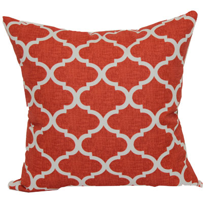 Mainstays 16″ Coral Trellis Outdoor Pillow