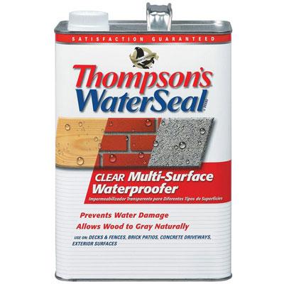Thompson's WaterSeal 1 gal. Clear Multi-Surface Waterproofer