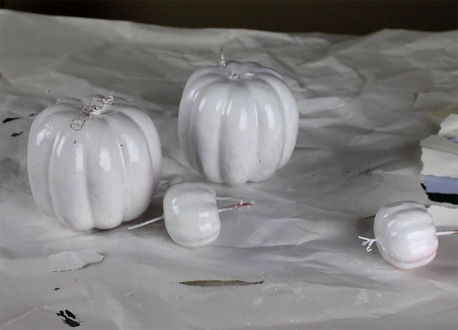 DIY Fall Decor - Foam Pumpkin Topiary | Home Decorations | Fall Crafts | Seasonal Decor