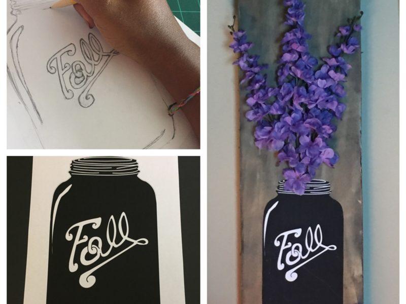 Fall - Mason Jar