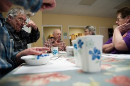 Community luncheon, Fairfield, VT