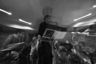 El compositor y saxofonista Alberto Arteta confeccionó todos los temas del concierto.