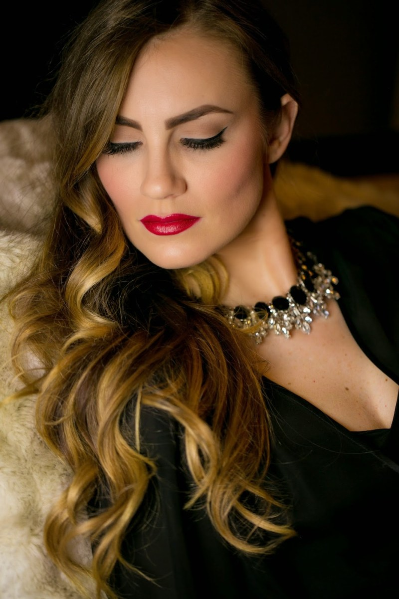 Old Hollywood Glam Makeup Hair Tutorial O Gorgeous By Angela Lanter