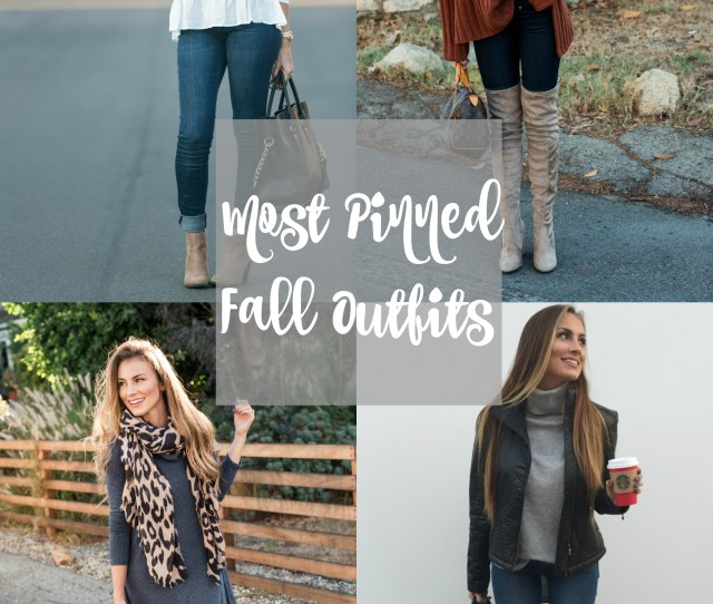 Most Popular Fall Outfits On Pinterest Hello Gorgeous By