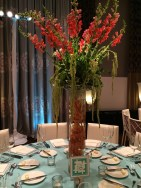 Another beautiful floral design centerpice executed by Media Florist. Photo by Angela MALICKI events