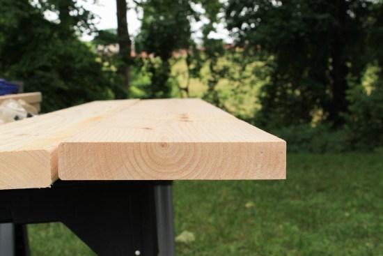 Farmhouse Table Diy With Removable Legs Angela Marie Made