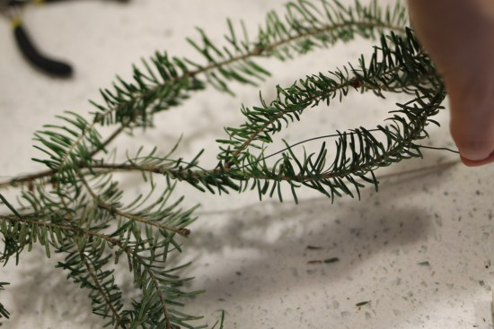 Rustic Christmas Garland DIY