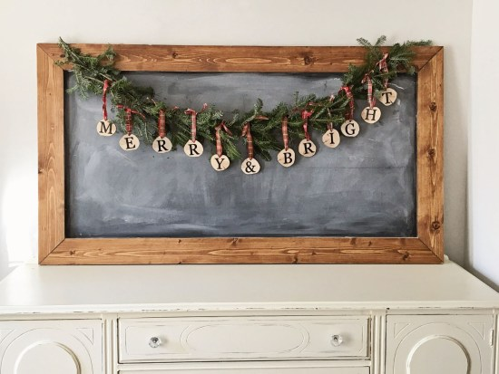 Christmas Garland Diy Angela Marie Made