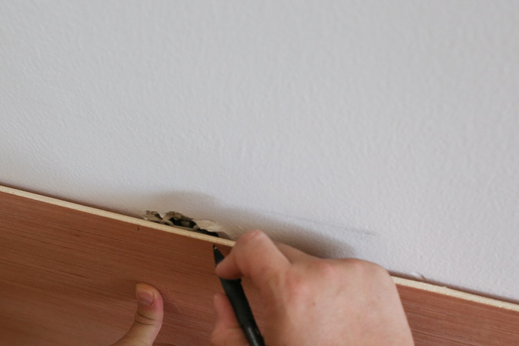 DIY Shiplap Accent Walls