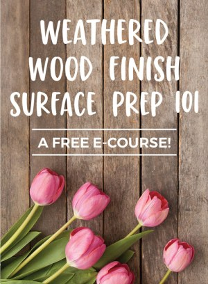 Weathered Wood Finish Surface Prep 101