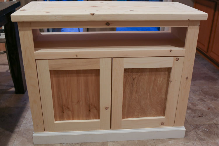 Diy rustic tv stand angela marie made - Made com meuble tv ...