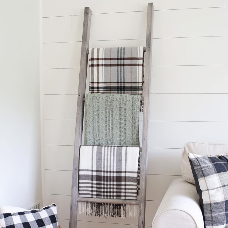 bd167dc06e71 Easy DIY Blanket Ladder - Angela Marie Made