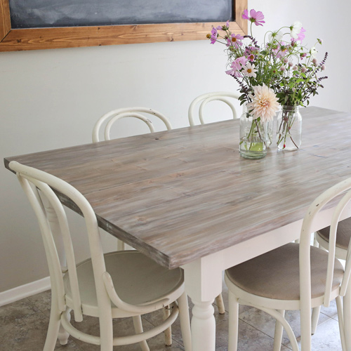 Farm Table Makeover