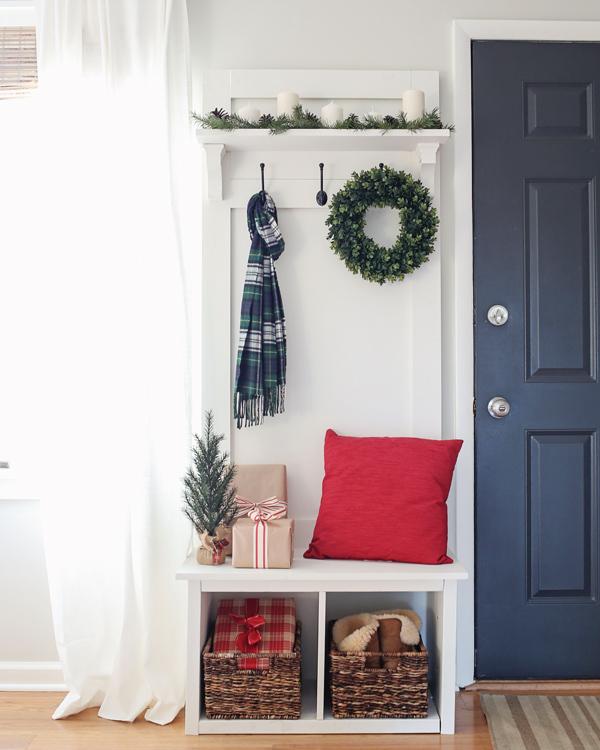 Rustic Christmas Living Room Decor