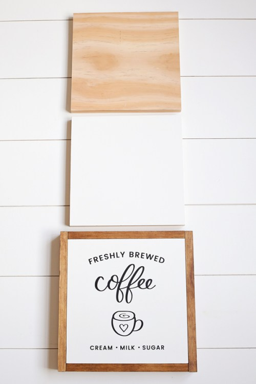 How to Paint DIY Wood Signs - Angela Marie Made