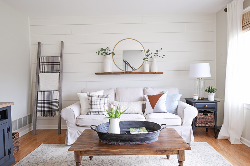 Attrayant Modern Rustic Living Room Makeover