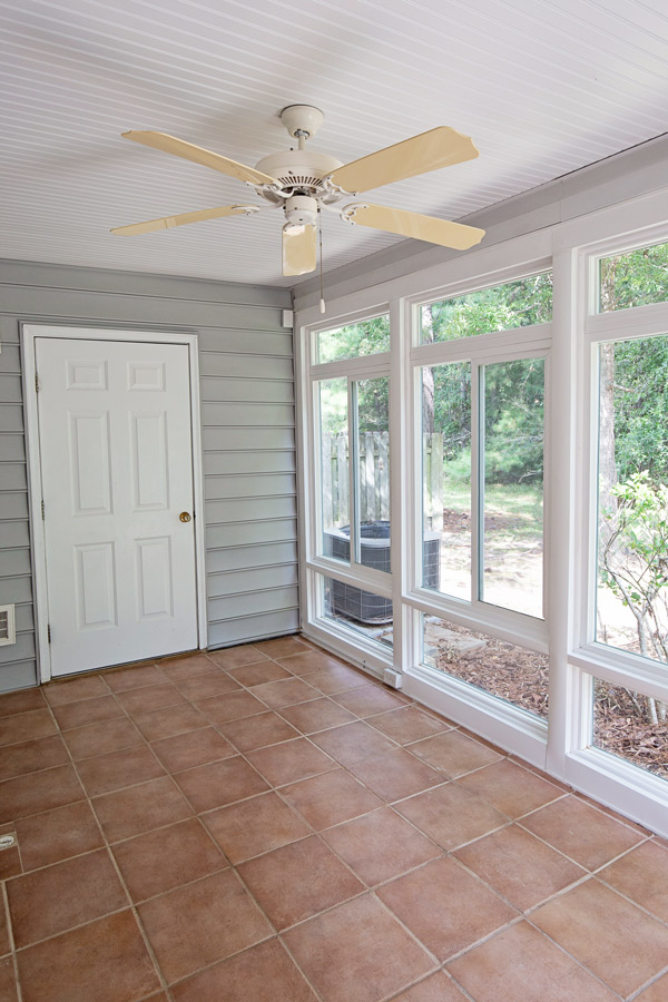New house - sunroom