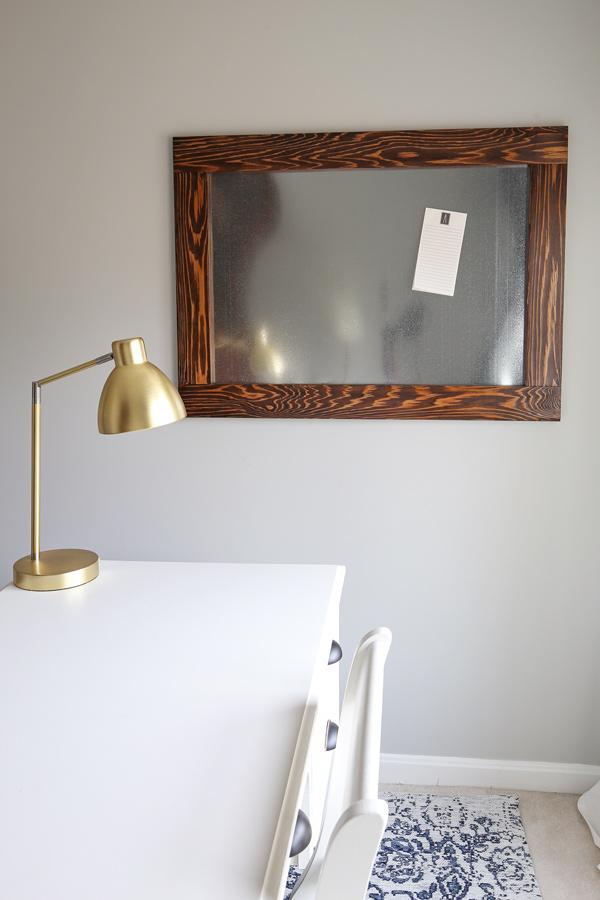 DIY Magnetic Board - Angela Marie Made