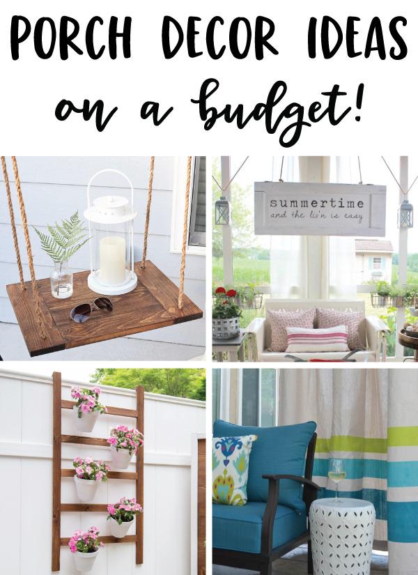 porch decor ideas on a budget