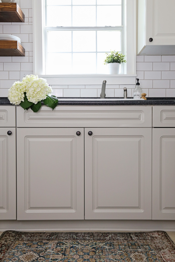 How To Paint Laminate Kitchen Cabinets Angela Marie Made