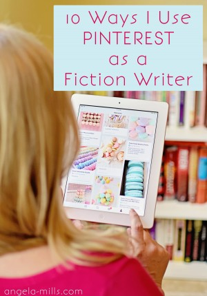using pinterest as a fiction writer