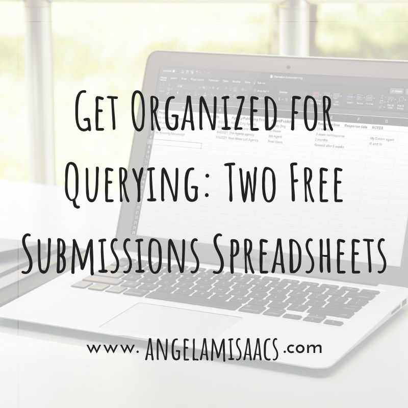 Get Organized for Querying: Two Free Submissions Spreadsheets