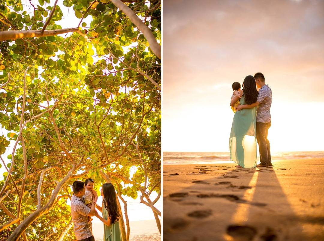 maui family sunset photographer