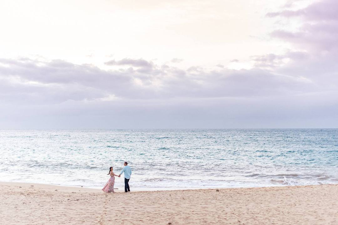 Romantic North Shore Maui Engagement_0022