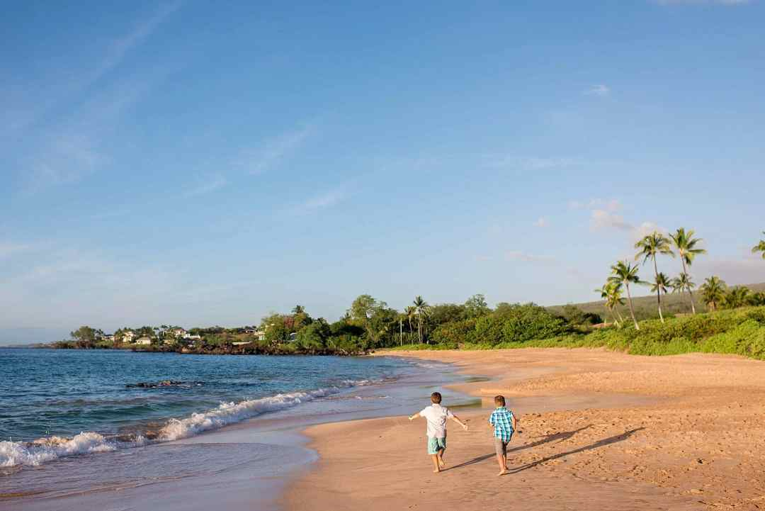 maluaka beach in makena