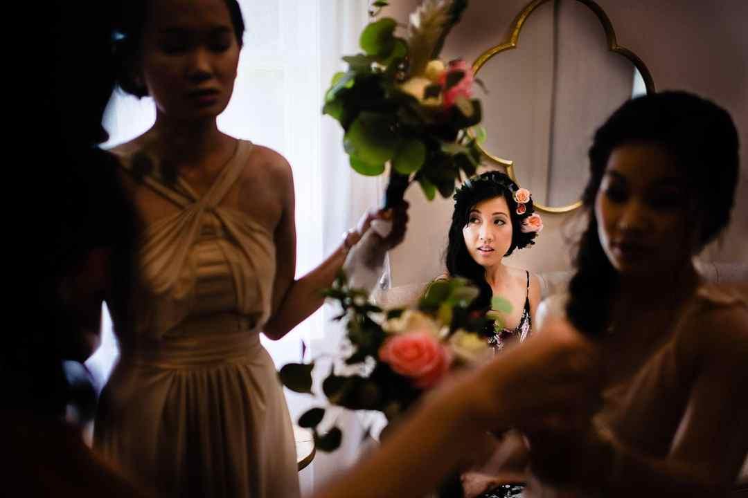 Bride at Steeple House Kapalua
