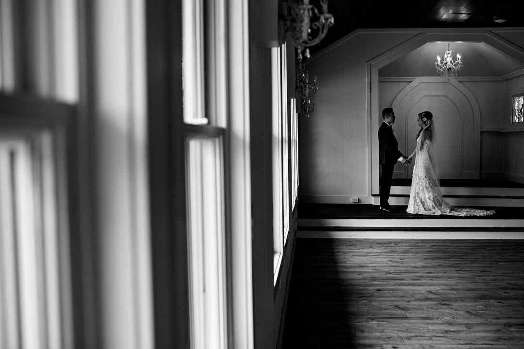 Gorgeous steeple house wedding