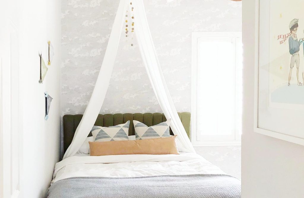diy curtain rod tent angela rose home