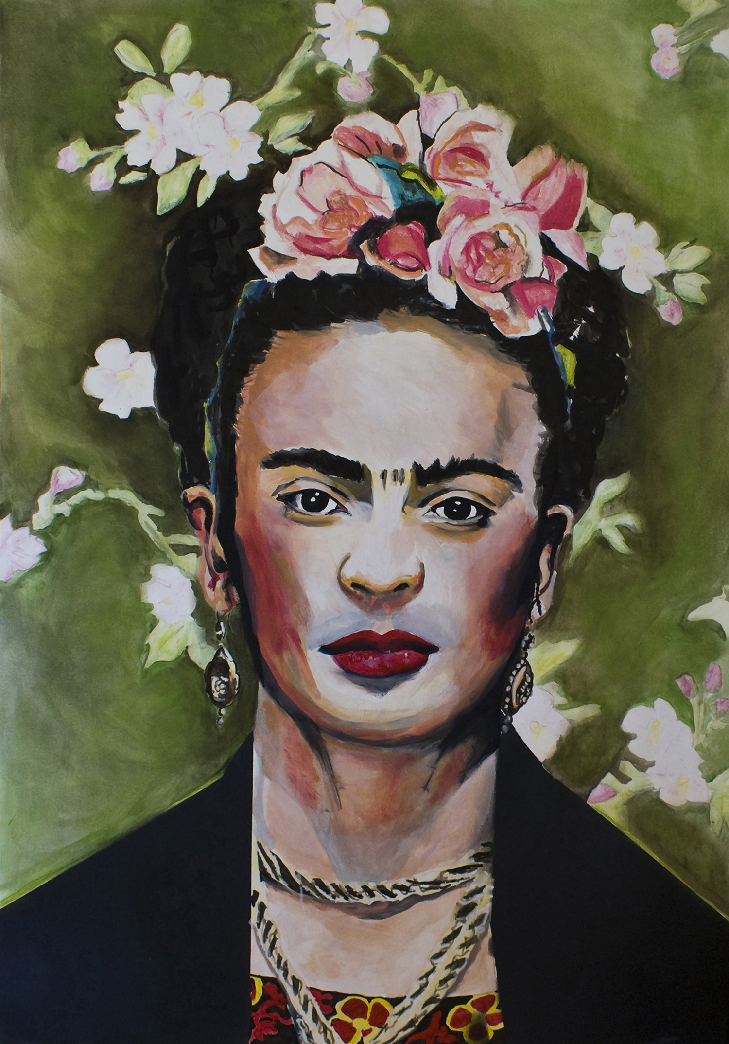 limited edition Giclée Print Frida Kahlo Angela Peters beeldende kunst