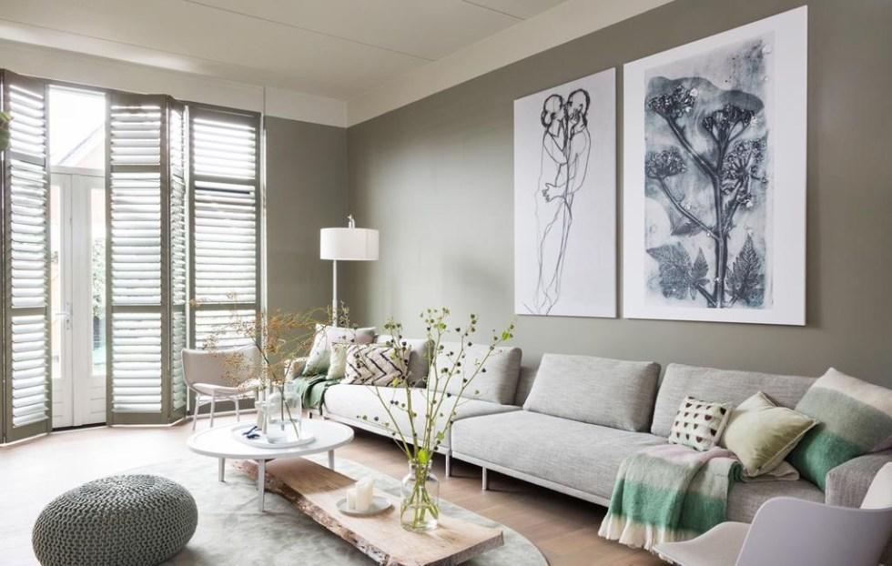 Botanisch print in VT Wonen Weer verliefd op je huis