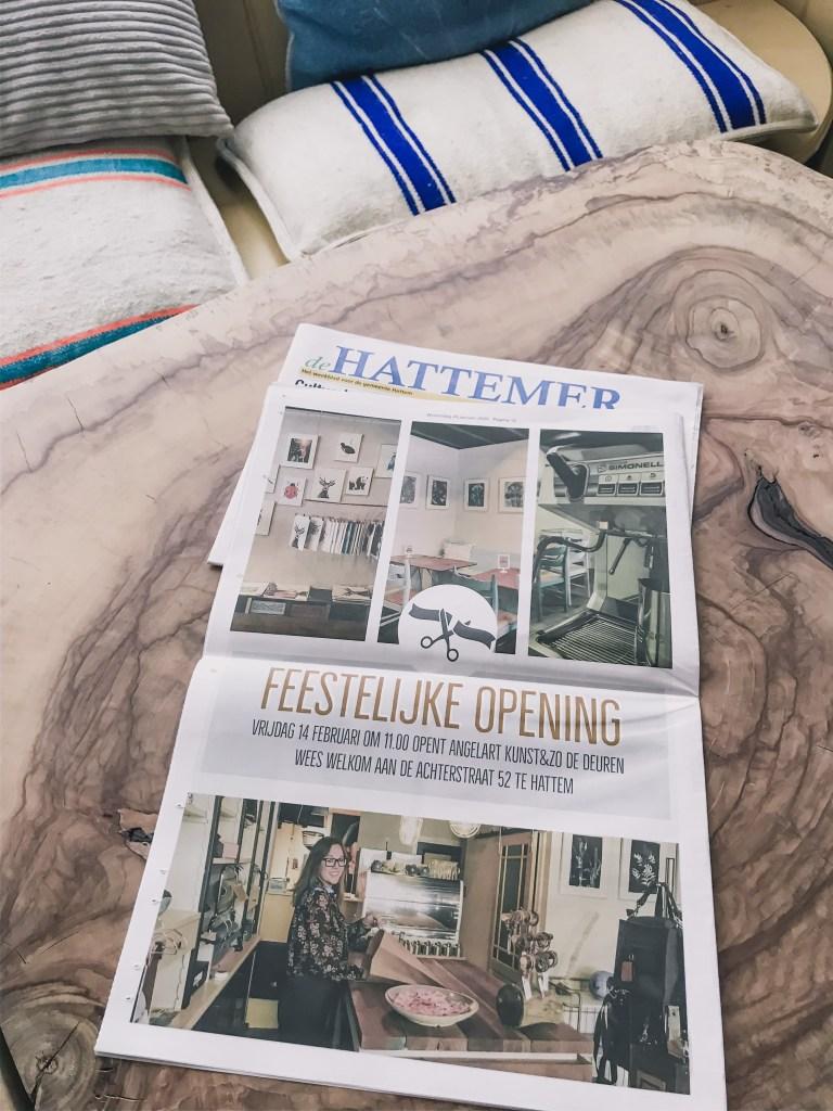 In de Hattemer krant